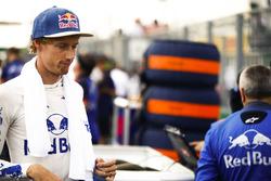 Brendon Hartley, Toro Rosso, sur la grille