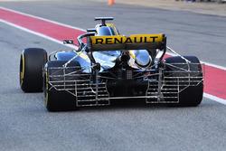 Nico Hulkenberg, Renault Sport F1 Team RS18 with rear aero sensors