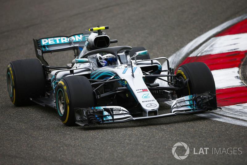 3. Valtteri Bottas, Mercedes AMG F1 W09