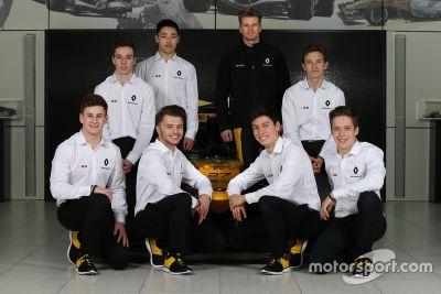 Les pilotes 2018 de la Renault Sport Academy