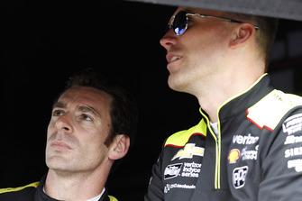 Simon Pagenaud, Team Penske Chevrolet, mit Ben Bretzman