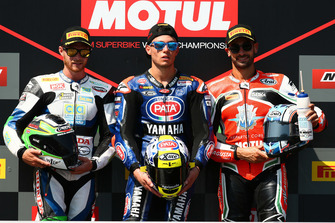 Le podium : Federico Caricasulo, Kyle Smith, Raffaele De Rosa