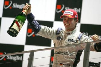 Nico Rosberg, Williams on the podium