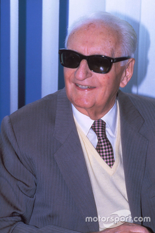 Enzo Ferrari en 1987