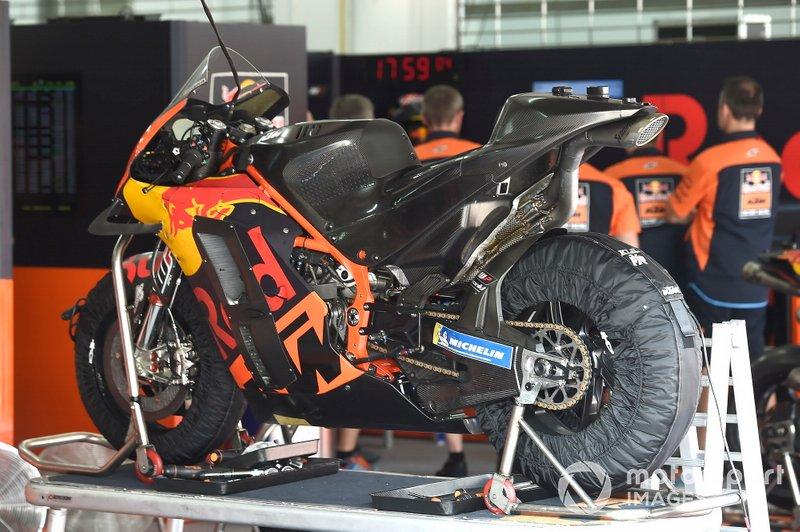 KTM detalle de la moto