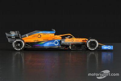 McLaren livery unveil
