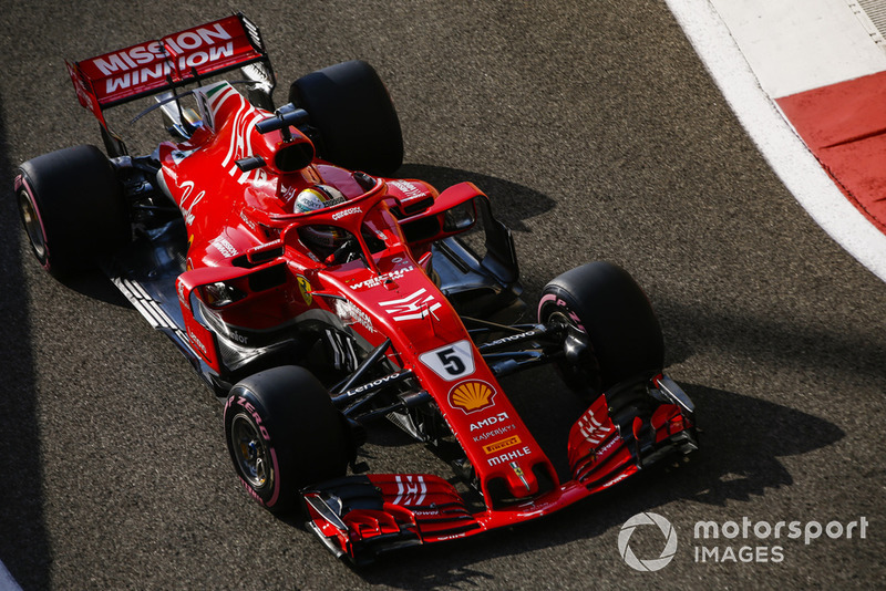 3: Себастьян Феттель, Ferrari SF71H – 1:35.125