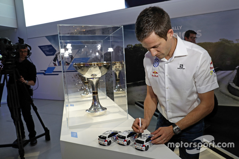 Sébastien Ogier all'Opening event