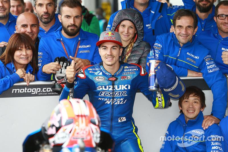 Platz 3 im Qualifying: Maverick Viñales, Team Suzuki MotoGP