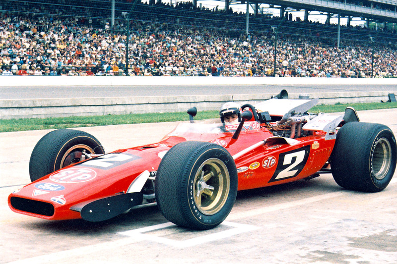 Mario Andretti, Hawk, 1969 Indy 500 winner.