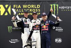 Podium: 1. Mattias Ekström, EKS, Audi S1 EKS RX Quattro; 2. Johan Kristoffersson, PSRX Volkswagen Sw