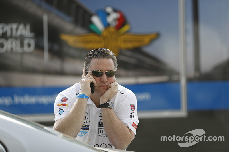 Zak Brown, McLaren CEO