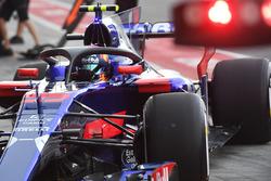 Карлос Сайнс-мл., Scuderia Toro Rosso STR12 с Halo