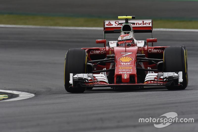 6 місце - Кімі Райкконен, Ferrari SF16-H