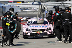Boxenstopp, Lucas Auer, Mercedes-AMG Team HWA, Mercedes-AMG C63 DTM