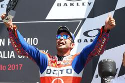 Подиум: Данило Петруччи, Pramac Racing, и Андреа Довициозо, Ducati Team