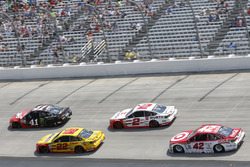 Joey Logano, Team Penske, Ford; Brad Keselowski, Team Penske, Ford; Kurt Busch, Stewart-Haas Racing, Ford; Kyle Larson, Chip Ganassi Racing, Chevrolet