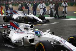 Felipe Massa, Williams FW40, Lance Stroll, Williams FW40