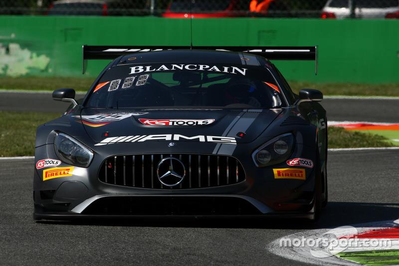 #85 Mercedes-AMG Team HTP Motorsport, Mercedes-AMG GT3: Dominik Baumann, Edward Sandström, Fabian Schiller