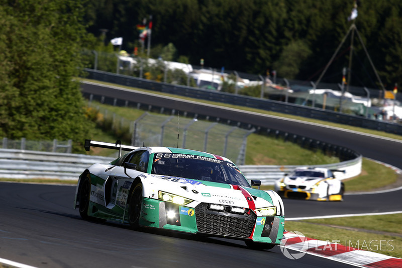 9. #28 Audi Sport Team Land-Motorsport, Audi R8 LMS