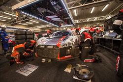 #2 Audi Sport Team WRT Audi R8 LMS: Connor de Filippi, Christopher Mies, Frédéric Vervisch