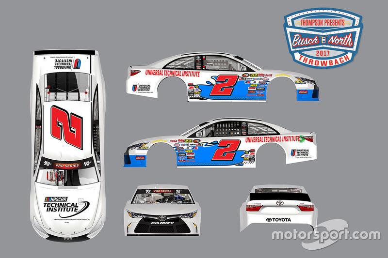 Revelación decoración K&N Pro Series East: Rev Racing