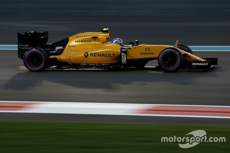 17. Jolyon Palmer, Renault Sport F1 Team RS16