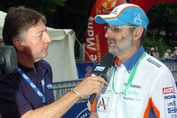 Henri Pescarolo interviewed by Jean-Luc Roy of Motors TV