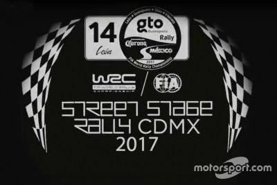 Presentación del Rally de México