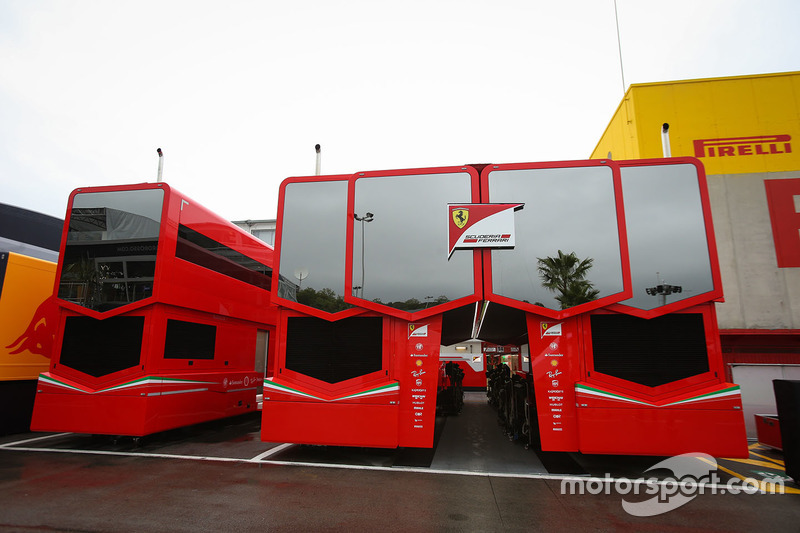 Ferrari motorhome