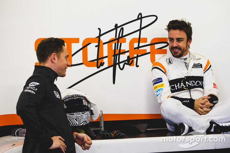 Стоффель Вандорн и Фернандо Алонсо, McLaren