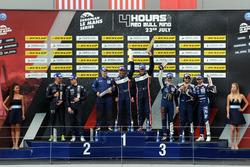 P3 Podyum: Yarış galibi  #9 AT Racing, Ligier JS P3 - Nissan: Alexander Talkanitsa Sr., Alexander Talkanitsa Jr., Mikkel Jensen, 2. #2 United Autosports, Ligier JS P3 - Nissan: John Falb, Sean Rayhall, 3. #18 M.Racing - YMR, Ligier JS P3 - Nissan: Alexandre Cougnaud, Antoine Jung, Romano Ricci