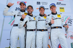 Podium: #14 AMG Team Black Falcon Mercdes-AMG GT3: Maro Engel, Adam Christodoulou, Manuel Metzger, Dirk Müller