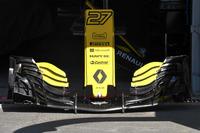 Renault Sport F1 Team R.S. 18, dettaglio dell'ala anteriore