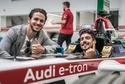 Daniel Abt und Caio Castro mit Formel-E