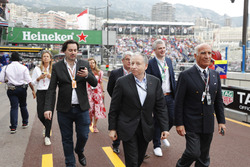 Jean Todt, President, FIA, arrives in the paddock