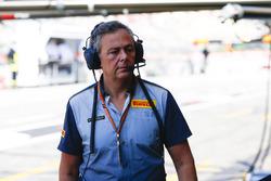 Mario Isola, Gerente de Carreras, Pirelli Motorsport