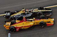 James Hinchcliffe, Schmidt Peterson Motorsports Honda, Ryan Hunter-Reay, Andretti Autosport Honda