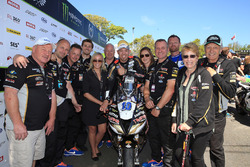 Peter Hickman and the Trooper Triumph by Smiths Racing Team