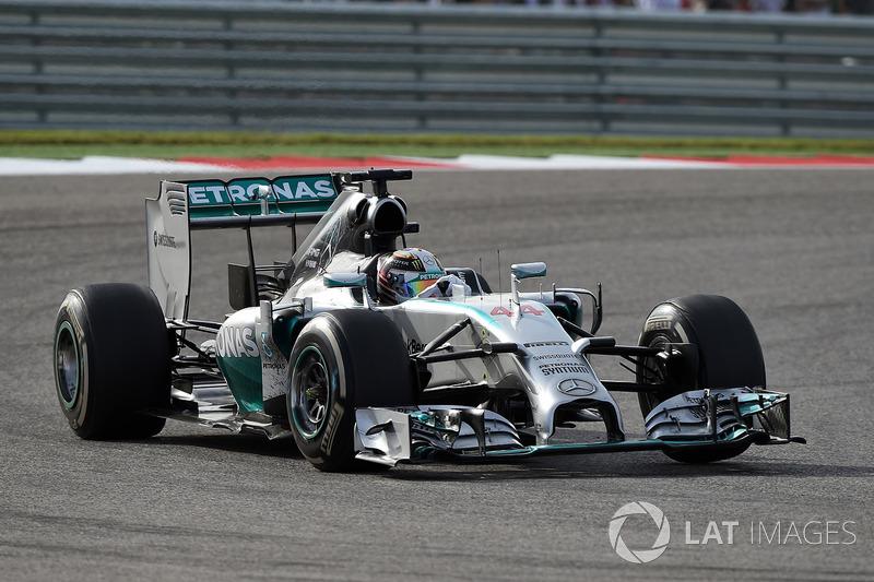 2014: Mercedes F1 W05