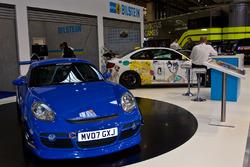 WRC car display
