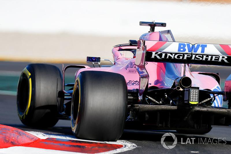 Force India VJM11: Diffusor