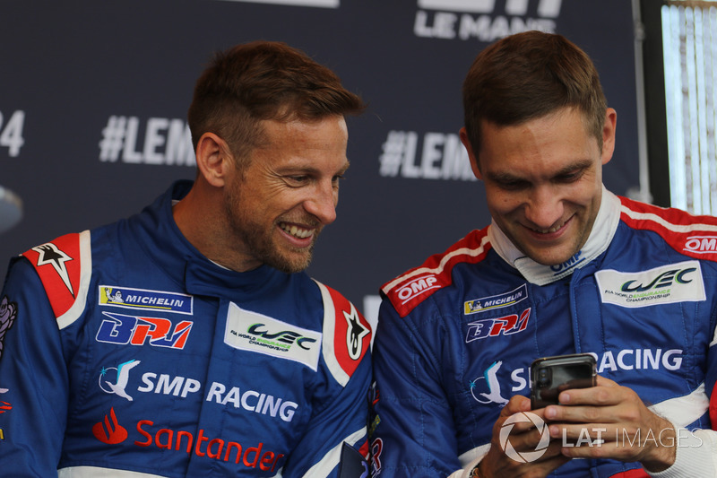 Jenson Button, Vitaly Petrov, SMP Racing