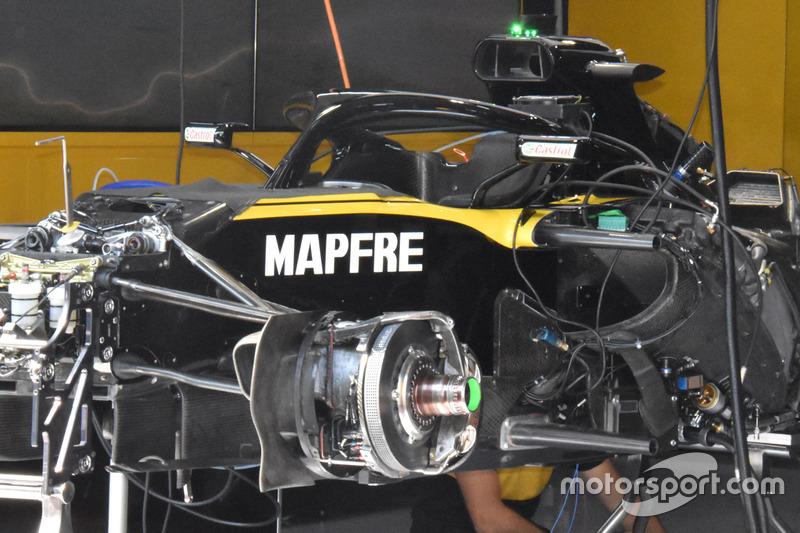 Renault Sport F1 Team R.S. 18, dettaglio anteriore