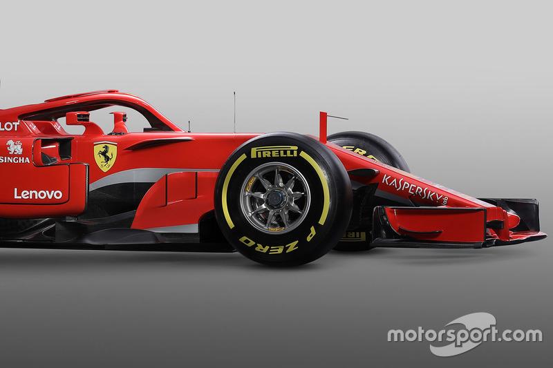 Передняя часть Ferrari SF71H
