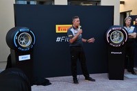 Mario Isola, Pirelli Sporting Director at the Pirelli 2018 launch