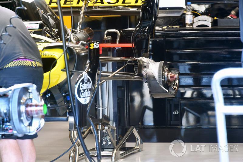 Renault Sport F1 Team R.S. 18 cubo de la rueda trasera