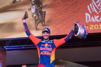 Podium: #14 Red Bull KTM Factory Racing KTM: Sam Sunderland
