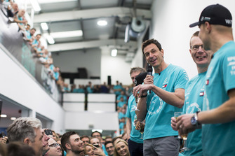 Toto Wolff, Mercedes AMG F1 World Championship celebration