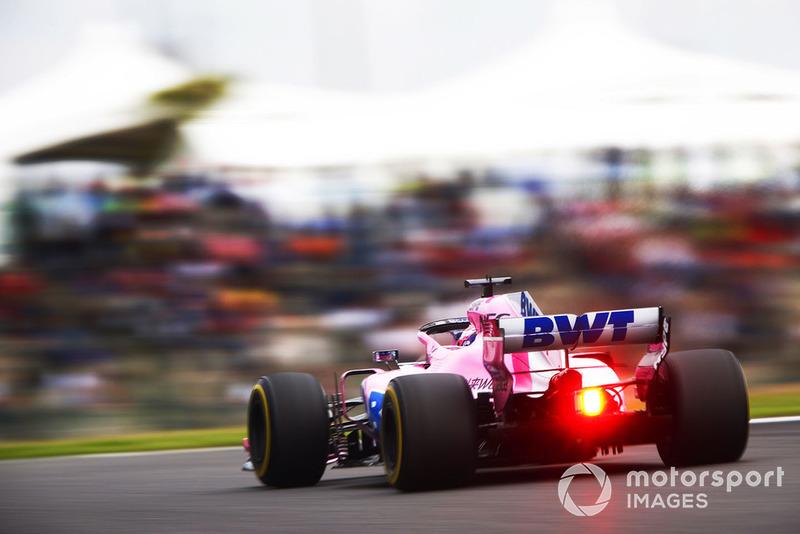 9. Esteban Ocon, Racing Point Force India VJM11